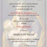 Ordinazione presbiteriale di don Angelo Di Tullo