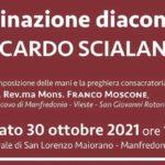 Ordinazione diaconale di fra Riccardo Scialandrone